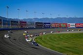 #18: Kyle Busch, Joe Gibbs Racing, Toyota Supra iK9, #2: Tyler Reddick, Richard Childress Racing, Chevrolet Camaro Hurdl, #00: Cole Custer, Stewart-Haas Racing, Ford Mustang Thompson Pipe/Haas CNC