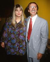 Chastity Bono Sonny Bono<br /> 1992<br /> Photo By Michael Ferguson/CelebrityArchaeology.com