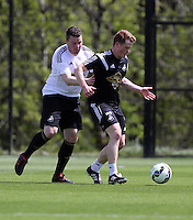 Pictured: Gareth Vincent (L) Thursday 21 May 2015<br />