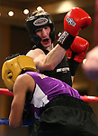 Army's Jordan Isham, defeats University of Washington's Ronnie Epting during a National Collegiate Boxing Association bout at the El Dorado Casino in Reno, Nev. on Friday, Feb. 5, 2016. <br /> Photo by Cathleen Allison