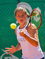 Zandvoort, Netherlands, 05 June, 2016, Tennis, Playoffs Competition, Querine Lemoine (NED)<br /> Photo: Henk Koster/tennisimages.com