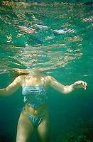 Headless underwater swimmer<br />