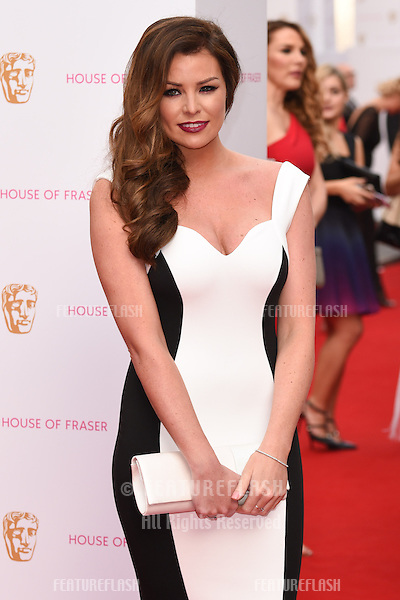 Jessica Wright<br /> arrives for the 2015 BAFTA TV Awards at the Theatre Royal, Drury Lane, London. 10/05/2015 Picture by: Steve Vas / Featureflash
