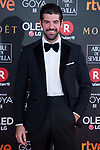 Miguel Angel Munoz attends red carpet of Goya Cinema Awards 2018 at Madrid Marriott Auditorium in Madrid , Spain. February 03, 2018. (ALTERPHOTOS/Borja B.Hojas)