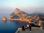 Spanien, Balearen, Mallorca, Cap Formentor: Mirador d'es Colomer   Spain, Balearic Islands, Mallorca, Cape Formentor: Mirador d'es Colomer
