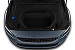 Car Stock 2021 Polestar Polestar-2 Pilot-Plus 5 Door Hatchback Engine  high angle detail view