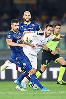 Hakan Calhanoglu-Miguel Veloso <br /> Verona 15/09/2019 Stadio Bentegodi <br /> Football Serie A 2019/2020 <br /> Hellas Verona - AC Milan <br /> Photo Image Sport / Insidefoto