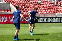SANDY, UT - JUNE 8: Josh Sargent of the United States during a training session at Rio Tinto Stadium on June 8, 2021 in Sandy, Utah.