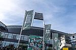 19.09.2020, wohninvest Weserstadion, Bremen, GER,  SV Werder Bremen vs Hertha BSC Berlin, <br /> <br /> <br />  im Bild<br /> <br /> Gittern vor dem Einlaß an Tor 4<br /> <br /> Foto © nordphoto / Kokenge<br /> <br /> DFL regulations prohibit any use of photographs as image sequences and/or quasi-video.