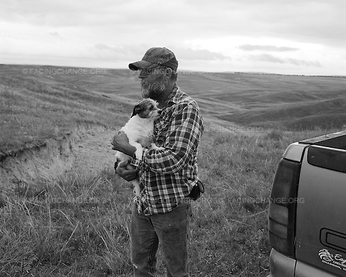 Hay Springs, Nebraska.July 26th, 2011..Jim Mracek surveys the cattle ranch that he tends to in Western Nebraska, once the heart of the high plains Sioux Nation. Jim's son, Cory, was killed in combat in Iraq in 2004.