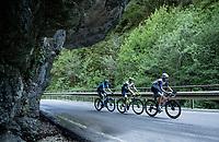 Bauke Mollema (NED/Trek-Segafredo) up the Passo di San Valentino (cat.1)<br /> <br /> 104th Giro d'Italia 2021 (2.UWT)<br /> Stage 17 from Canazei to Sega di Ala (193km)<br /> <br /> ©kramon