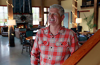 Balcones artisian distillery owner Greg Allen photographed at his Bold Rock Hard Cider tasting room located in Nellysford, VA. Photo/Andrew Shurtleff