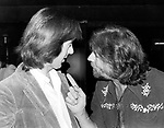 John Mayall 1979 with Spencer Davis at a reception for John Mayall in Hollywood<br /> © Chris Walter