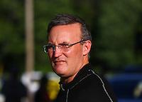 May 16, 2014; Commerce, GA, USA; NHRA top fuel dragster driver Doug Kalitta during qualifying for the Southern Nationals at Atlanta Dragway. Mandatory Credit: Mark J. Rebilas-USA TODAY Sports