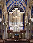 January 11, 2017; Murdy Family Organ, Basilica of the Sacred Heart (Photo by Matt Cashore/University of Notre Dame)