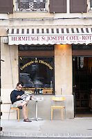 wine shop tain l hermitage rhone france