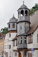 Altes Rathaus in Stadtprozelten am Main, Bayern, Deutschland