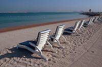 Vereinigte arabische Emirate (VAE, UAE), Dubai, Strand des Jebel Ali Golf Resort + Spa