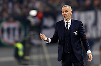 Calcio, Serie A: Lazio vs Juventus. Roma, stadio Olimpico, 4 dicembre 2015.<br /> Lazio coach Stefano Pioli gestures during the Italian Serie A football match between Lazio and Juventus at Rome's Olympic stadium, 4 December 2015.<br /> UPDATE IMAGES PRESS/Riccardo De Luca