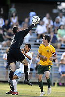 Alec Dufty-AC St Louis goalkeeper...AC St Louis defeated Portland Timbers 3-0 at Anheuser-Busch Soccer Park, Fenton, Mssouri.