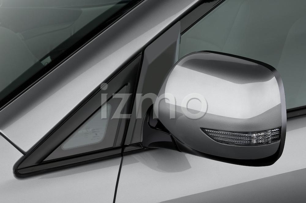 Studio photography on white background of a 2008 Subaru Tribeca SUV