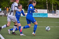 Sien Vandersanden (10) of KRC Genk pictured during a female soccer game between Sporting Charleroi and Eendracht Aalst on the 8th matchday in play off 2 of the 2020 - 2021 season of Belgian Scooore Womens Super League , tuesday 18 th of May 2021 in Marcinelle , Belgium . PHOTO SPORTPIX.BE | SPP | STIJN AUDOOREN