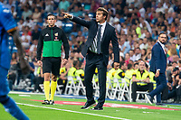 Real Madrid coach Julen Lopetegui during La Liga match between Real Madrid and Getafe CF at Santiago Bernabeu in Madrid, Spain. August 19, 2018.  *** Local Caption *** © pixathlon<br /> Contact: +49-40-22 63 02 60 , info@pixathlon.de