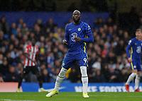 2nd October 2021; Stamford Bridge, Chelsea, London, England; Premier League football Chelsea versus Southampton; Romelu Lukaku of Chelsea