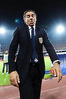 Cesare Prandelli Italia <br /> Napoli 15-10-2013 Stadio San Paolo <br /> Football Calcio Fifa World Cup 2014 Qualifiers <br /> Europe Group B <br /> Italia - Armenia <br /> Italy - Armenia <br /> Foto Andrea Staccioli Insidefoto