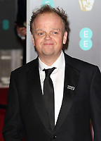 File photo of actor Toby Jones who has been awarded an OBE for services to Drama in the New Year's Honours List.<br /> EE British Academy Film Awards - Red Carpet Arrivals at the Royal Albert Hall, London on Sunday February 18th 2018<br /> <br /> Photo by Keith Mayhew