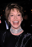 Mary Tyler Moore attends<br />THE PRODUCERS  4/19/2001<br />THE NEW MEL BROOKS MUSICAL<br />OPENING NIGHT, ST. JAMES THEATER<br />NEW YORK CITY