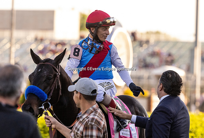 MAY 01, 2021:  Amr Zedan  after Medina Spirit wins the Kentucky Derby at Churchill Downs in Louisville, Kentucky on May 1, 2021. EversEclipse Sportswire/CSM