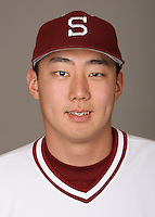 STANFORD, CA - JANUARY 7:  Min Moon of the Stanford Cardinal baseball team poses for a headshot on January 7, 2009 in Stanford, California.