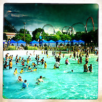 Hershey Park is an amusement park located in Hershey, Pennsylvania, near the Hershey Chocolate Factory.
