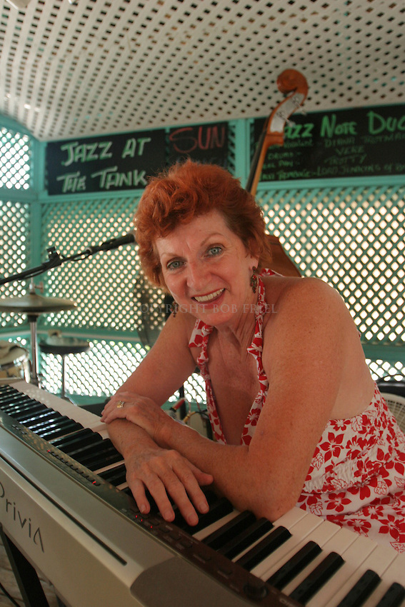 Jazz at the Tank.Lobster Alive Restaurant.Bridgetown, St. Michael.Barbados