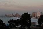 Israel, Tel Aviv-Yafo. A view of Tel Aviv as seen from Jaffa