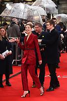 "Rosamund Pike<br /> arriving for the ""Radioactive"" premiere at the Curzon Mayfair, London.<br /> <br /> ©Ash Knotek  D3560 07/03/2020"