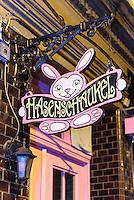 Hasenschaukel, Silbersackstraße 17  in Hamburg St.Pauli, Deutschland