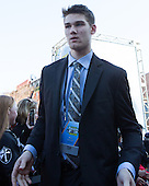 Mark Jankowski (PC - 10) - The teams walked the red carpet through the Fan Fest outside TD Garden prior to the Frozen Four final on Saturday, April 11, 2015, in Boston, Massachusetts.