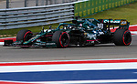 Racing Point BWT Mercedes driver Lance Stroll (18) of Team Canada in action during the Formula 1 Aramco United States Grand Prix practice session held at the Circuit of the Americas racetrack in Austin,Texas.