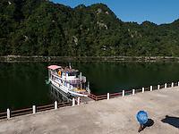 beim Chongchong-Hotel in den Myohyang-Bergen, Nordkorea, Asien<br /> near Chongchong-Hotel in Myoohyang-Mountains, North Korea, Asia