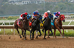 DEL MAR, CA  JULY 31: Four in a line in the stretch the Bing Crosby Stakes (Grade l) Breeders Cup Win and You're In Sprint Division on July 31, 2021 at Del Mar Thoroughbred Club in Del Mar, CA. (Photo by Casey Phillips/Eclipse lSportswire/CSM)