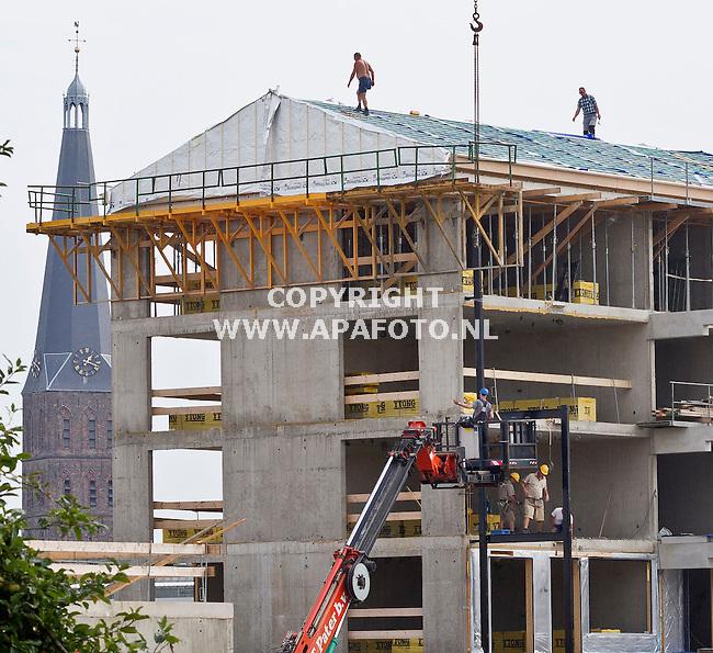 Zutphen, 220813<br /> Nieuwbouw/woningbouw op Reesinkterrein<br /> Foto: Sjef Prins - APA Foto