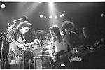 Dweezil Zappa,  Andy Taylor, Charlie Sexton , Patrick Ohearn, Tommy Lee.  Roxy  1986
