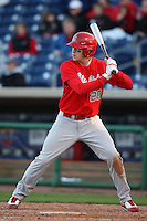 February 27, 2010:  Matt Steng of the Ohio State Buckeyes during the Big East/Big 10 Challenge at Bright House Field in Clearwater, FL.  Photo By Mike Janes/Four Seam Images