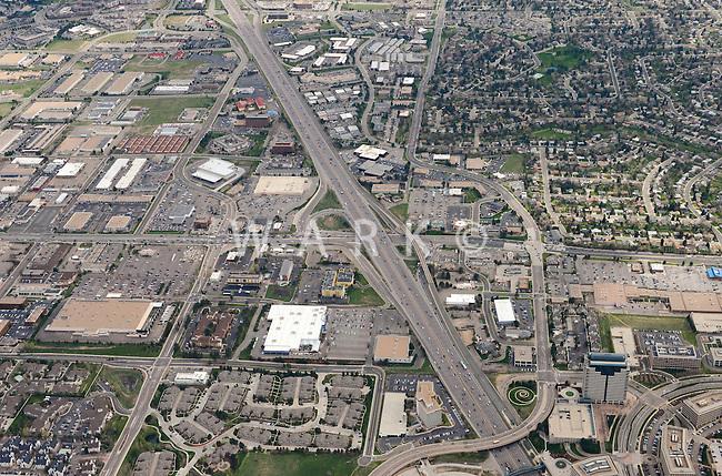 Denver, Colorado.  Arapahoe Road and I25.  2013