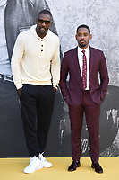 "Idris Elba and Aml Ameen<br /> arriving for the premiere of ""Yardie"" at the BFI South Bank, London<br /> <br /> ©Ash Knotek  D3422  21/08/2018"