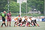UBB Gavekal VS GFI East Africans  GFI HKFC Rugby Tens 2016 on 07 April 2016 at Hong Kong Football Club in Hong Kong, China. Photo by Marcio Machado / Power Sport Images