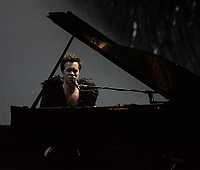 Le pianiste Rufus Wainwright, juin 2010<br /> <br /> PHOTO D'ARCHIVE :  Agence Quebec Presse