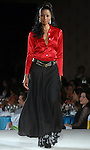 A model walks the runway during the Gerardo Pragonetti fashion show at the Latin Women's Initiative luncheon at the InterContinental Hotel Friday May 4,2007.(Dave Rossman/For the Chronicle)